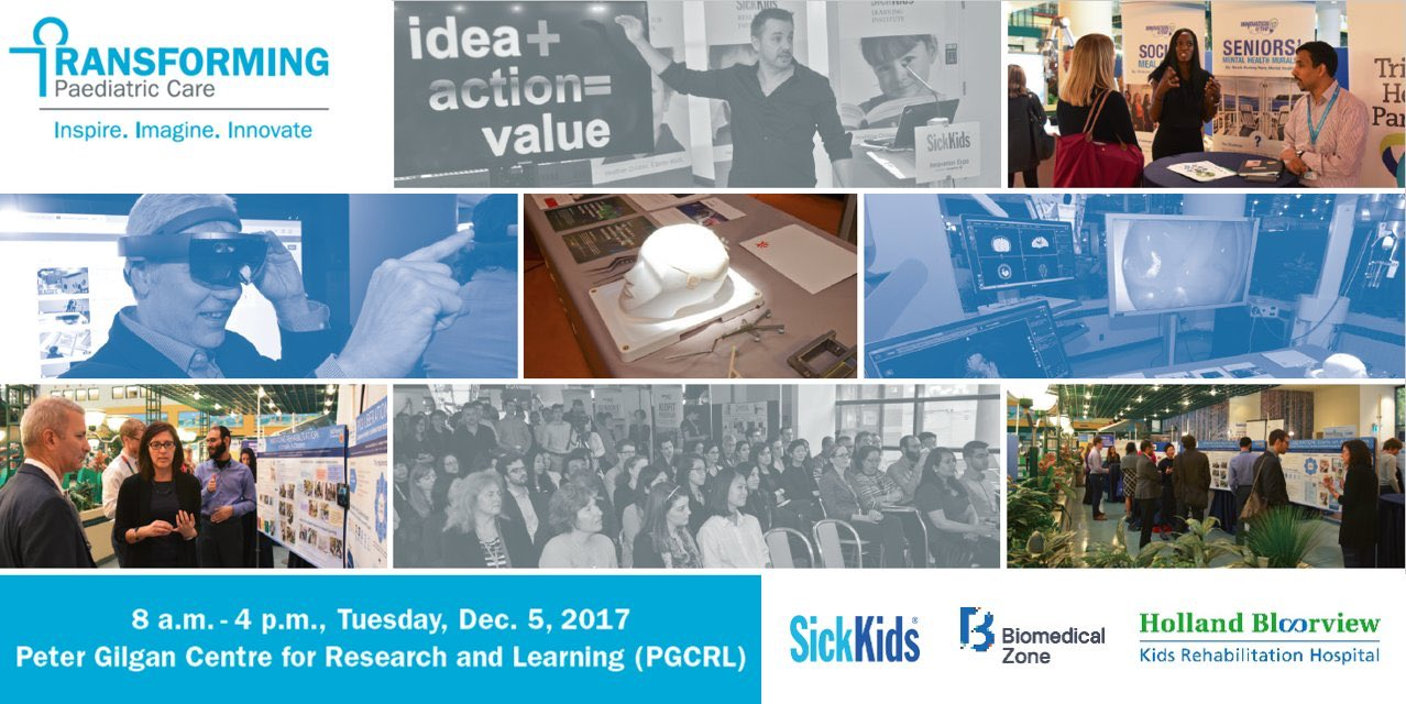 Mosiac image for Transforming Paediatric Care, courtesy SickKids