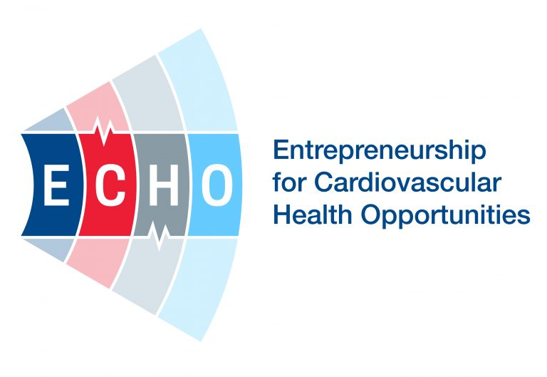 ECHO Entrepreneurship for Cardiovascular Health Opportunities logo button