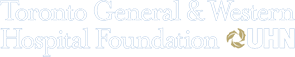 Toronto General and Western Hospital Foundation at UHN logo and website link